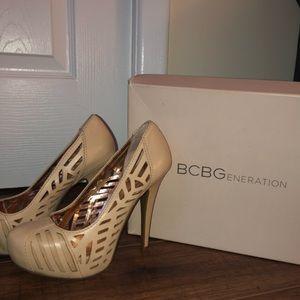 BCBG heels!